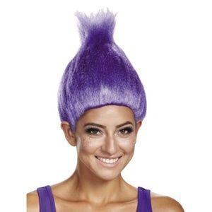 Purple Troll's Wig